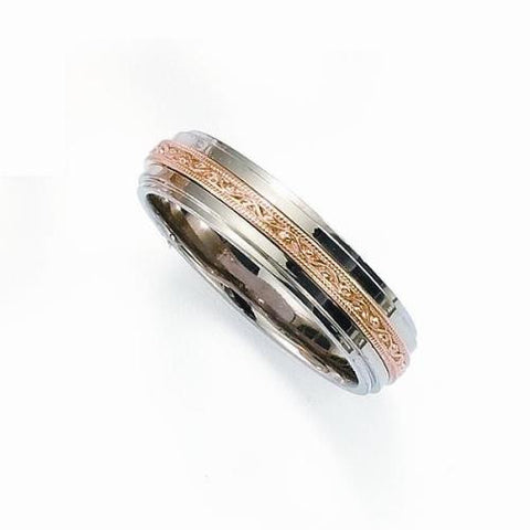 two tone wedding bands, unisex wedding bands, unique wedding bands, vintage wedding bands