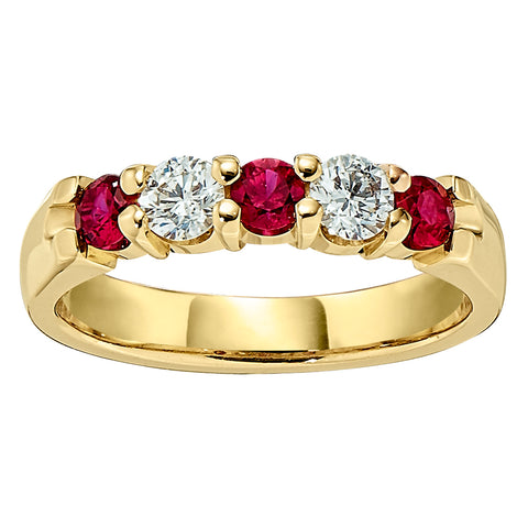 Ruby Wedding Rings, Gemstone Wedding Bands, ruby and diamond wedding bands, ruby and diamond wedding rings