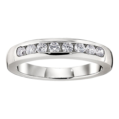 channel wedding band, matching wedding bands