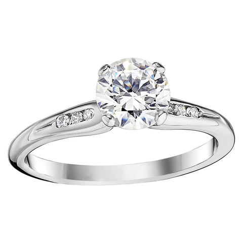 classic engagement ring settings, channel engagement rings, classic diamond channel set rings