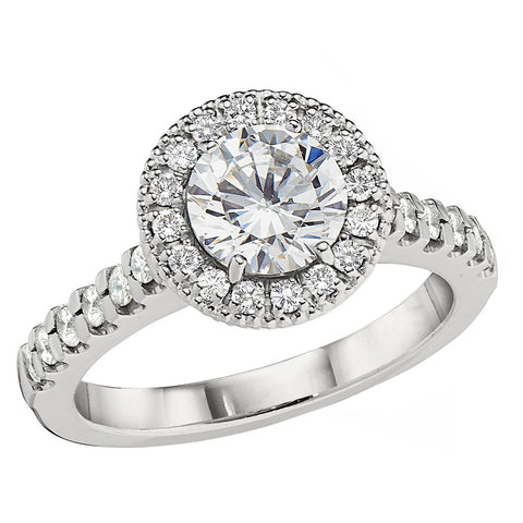 Halo Engagement Ring Settings, halo engagement rings, diamonds around a diamond engagement rings