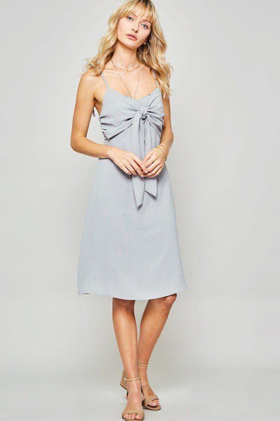 Yushikas Boutique A Woven Midi Dress