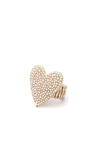 Yushikas Boutique Heart Shape Ring