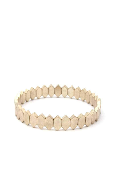 Yushikas Boutique Pointed Oval Stretch Bracelet