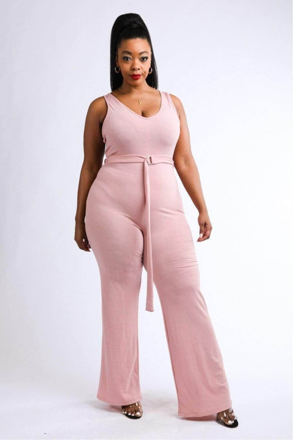 Yushikas Boutique Tank Jumpsuit