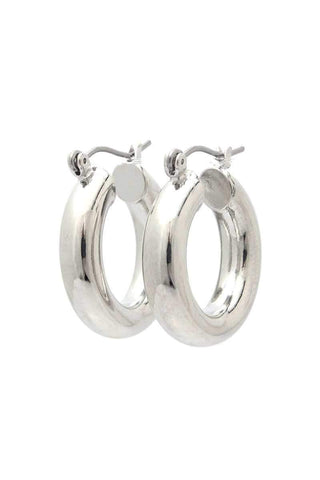 Yushikas Boutique Tube Hoop Earring