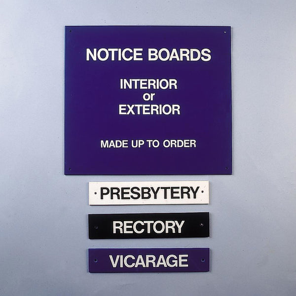 Special Commissions - Notice Board Examples
