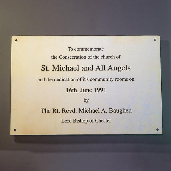 Special Commissions - Engraved Plate Example