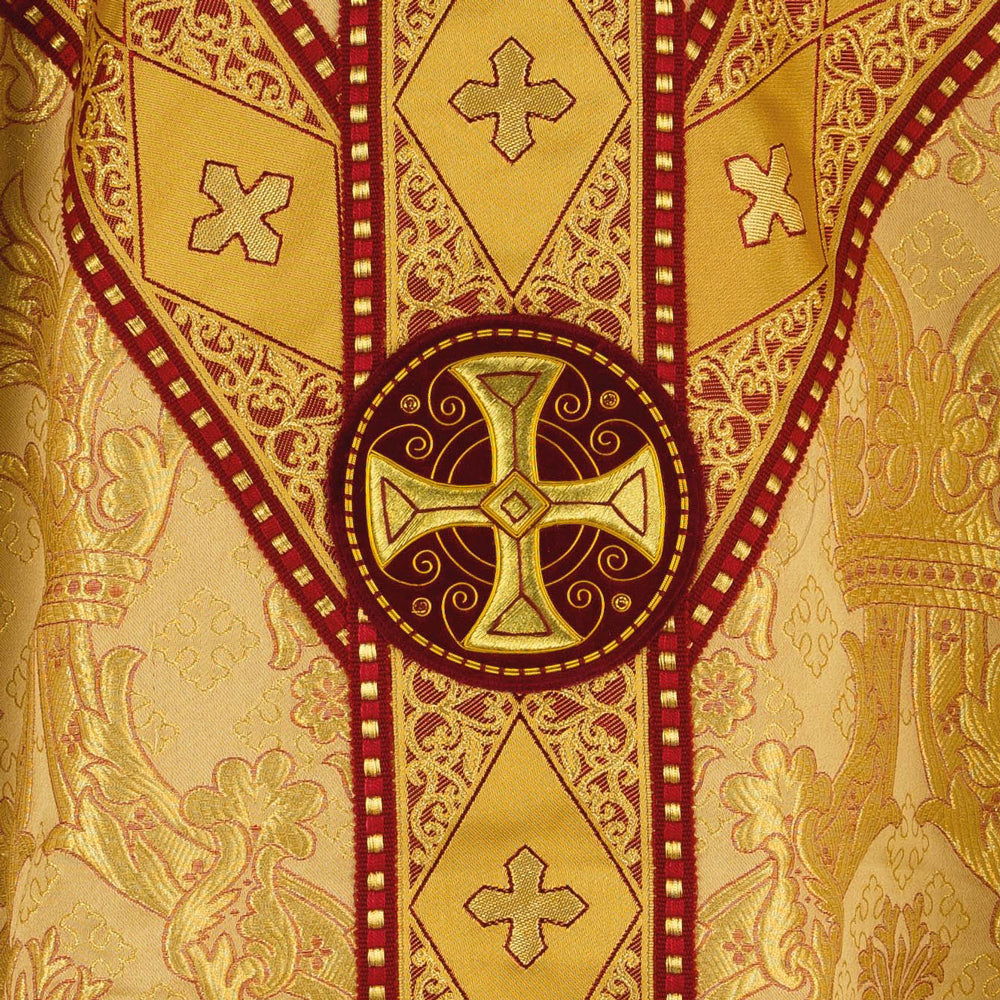 Crown & Pomegranate Chasuble