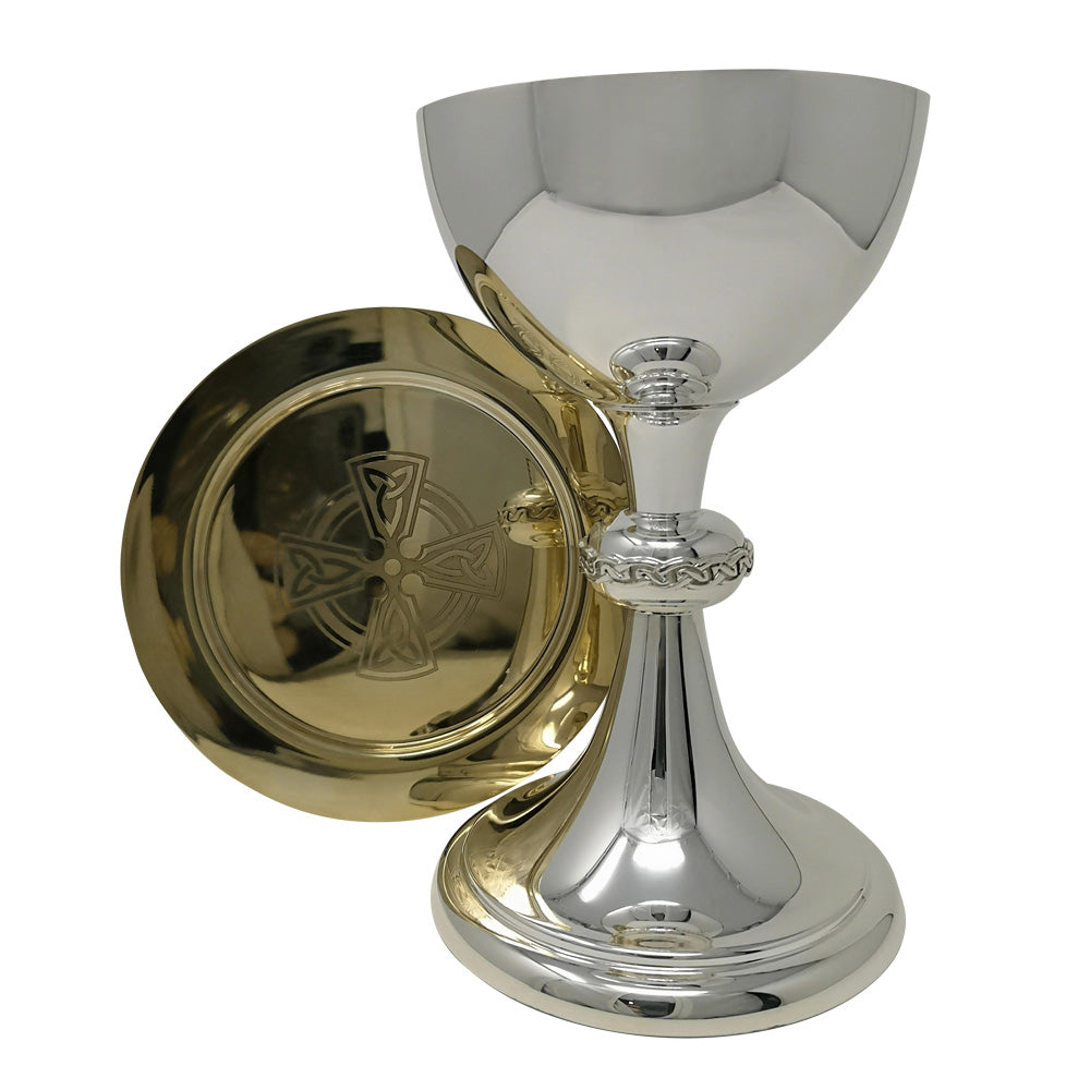 Silver Plated Chalice and Paten