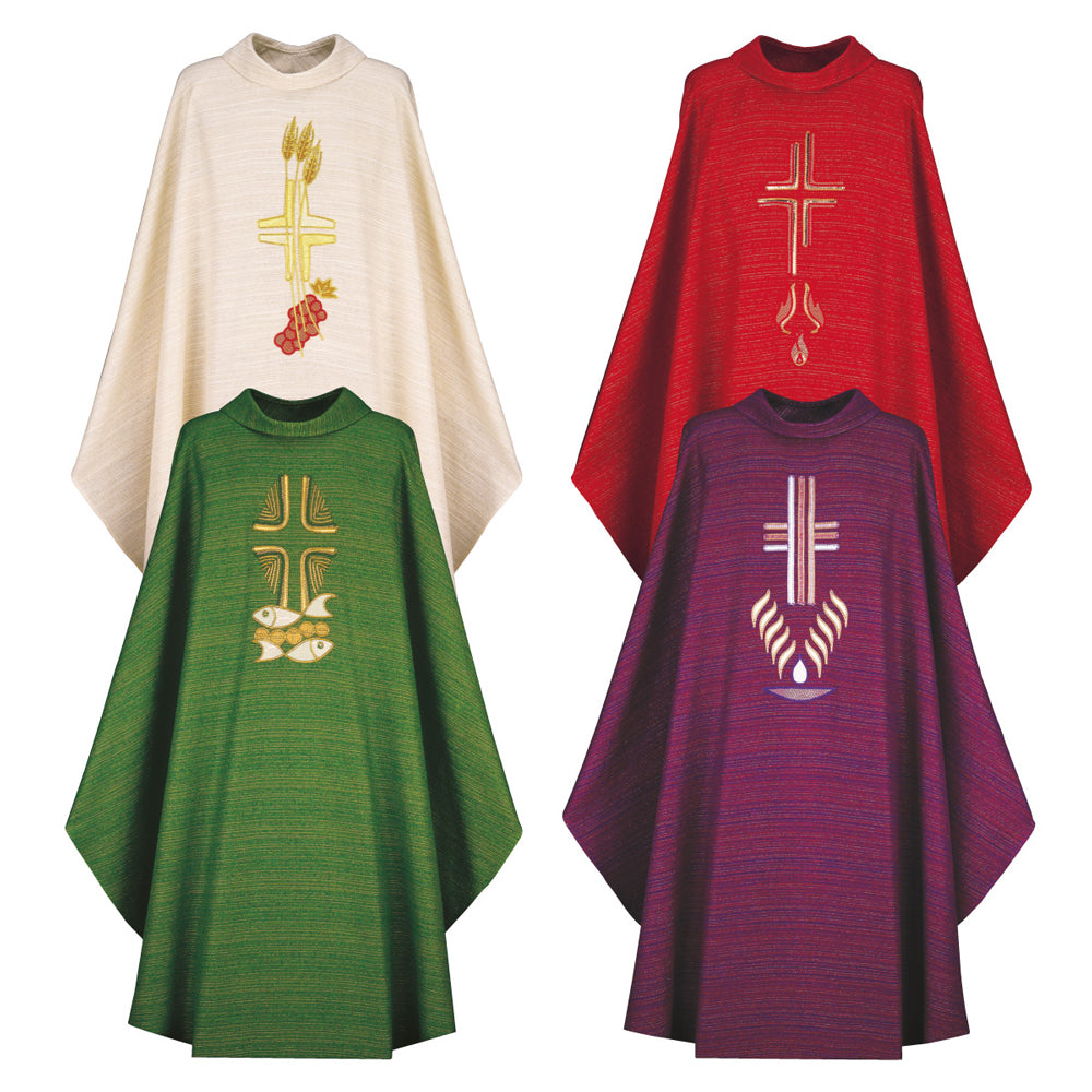 Chasubles in Pascal or Cantate