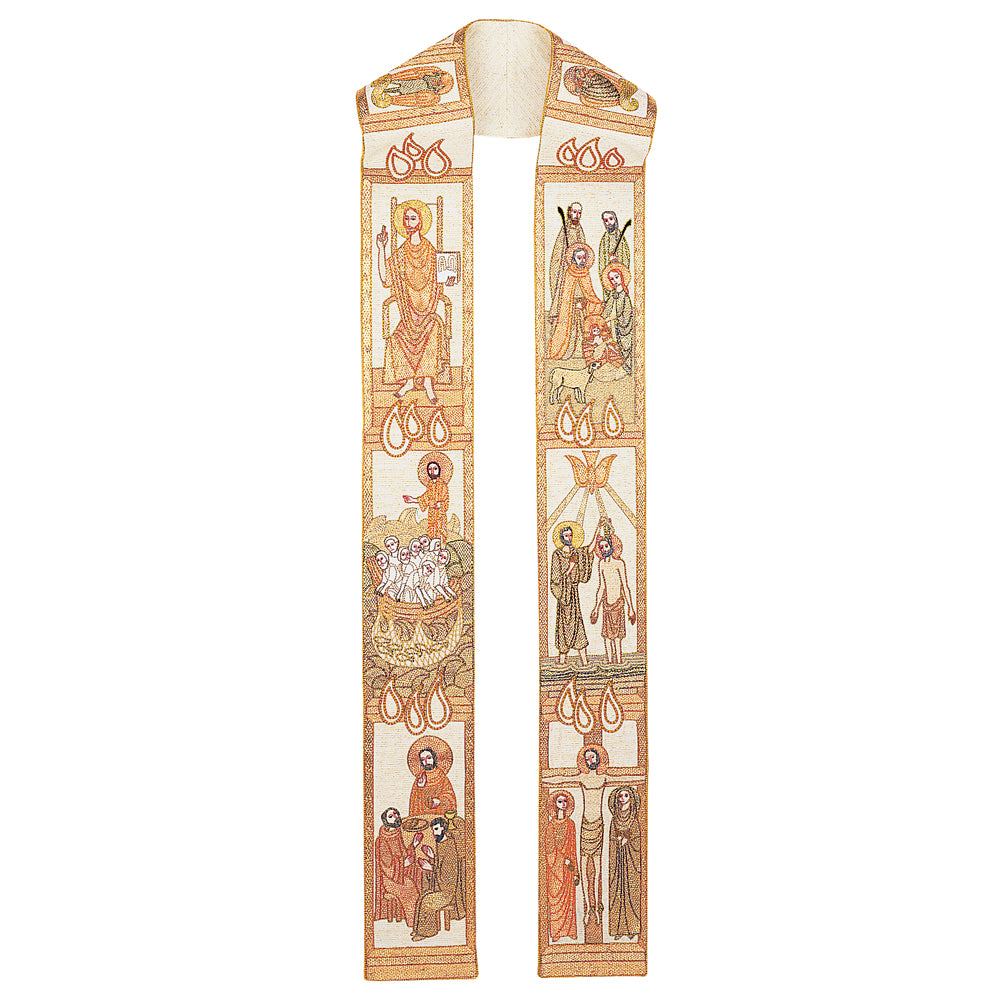 'Life of Christ' Overlay Stole