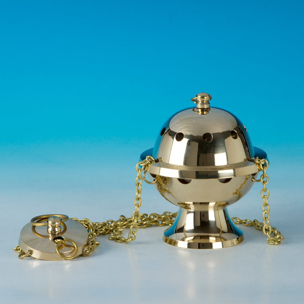 Small Brass Thurible