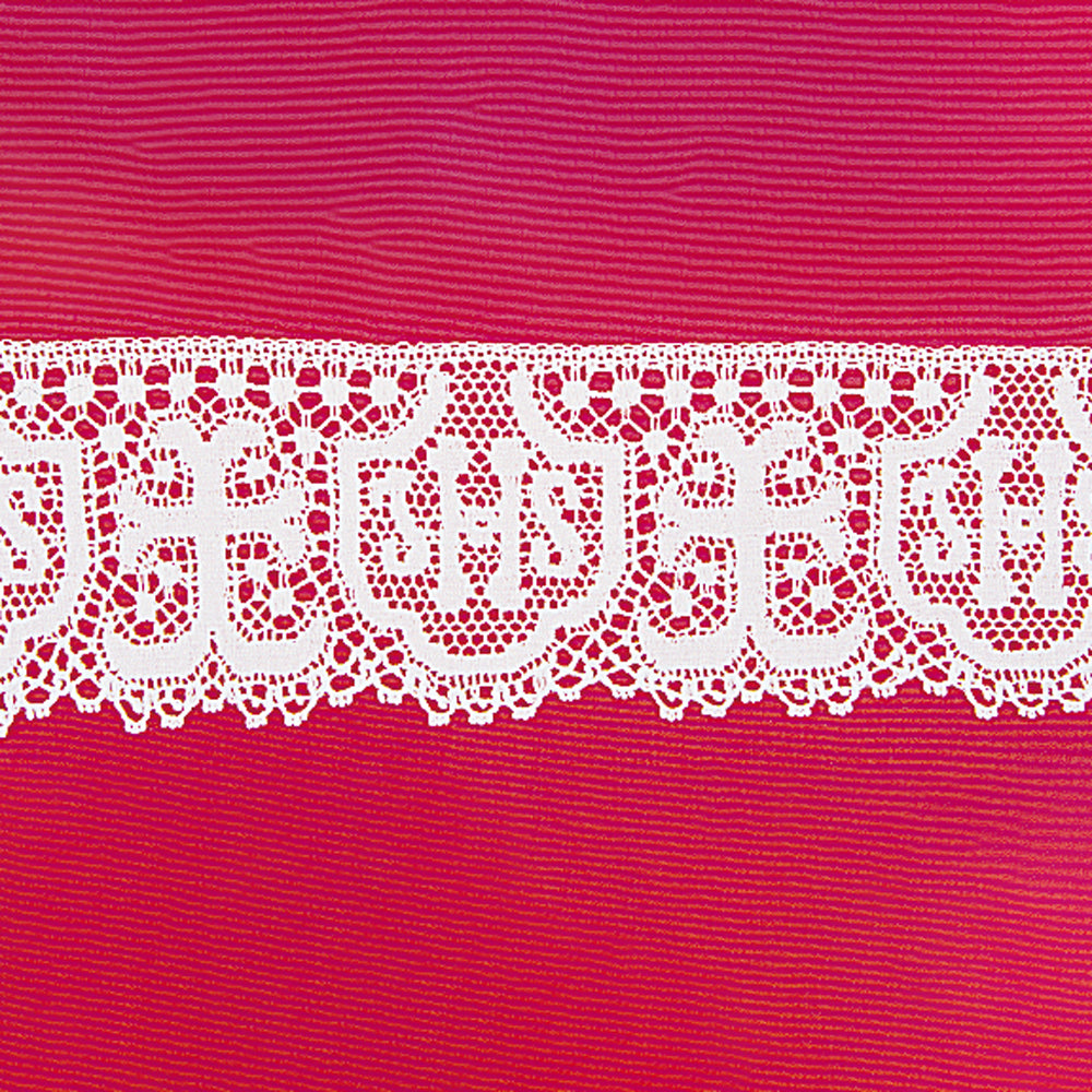 "'IHS' Cotton Lace - 3.1/4"" Deep"