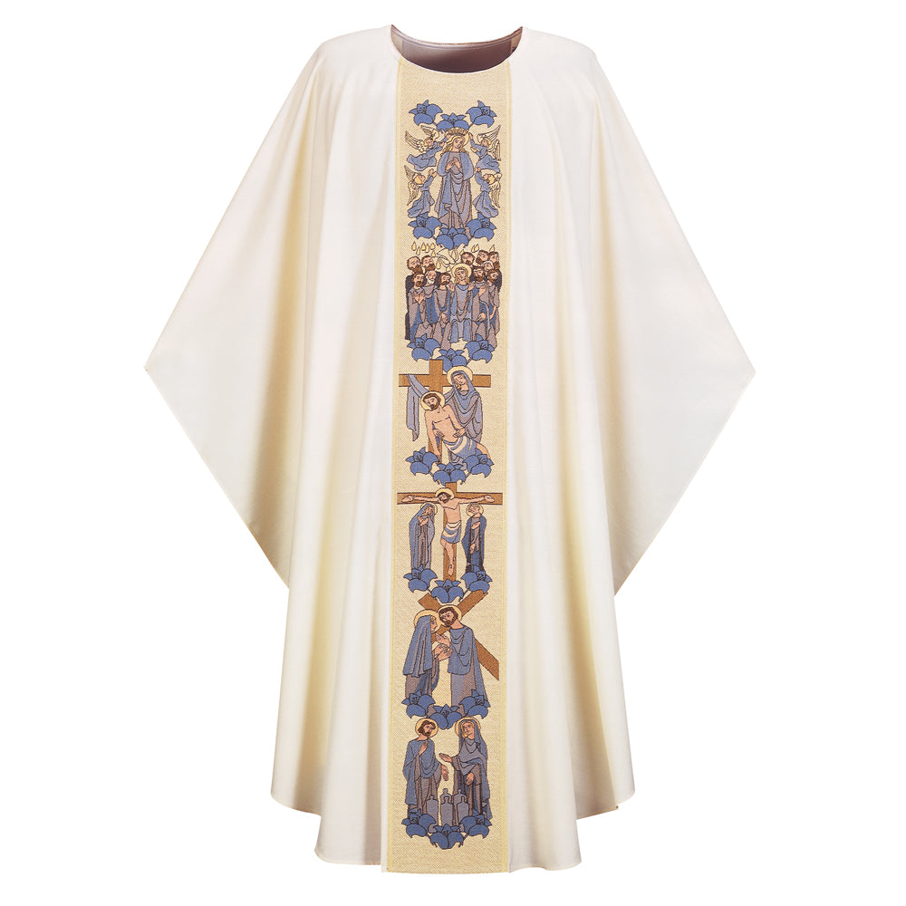 'Life of the Blessed Mother' Marian Chasuble