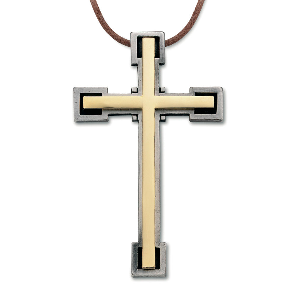 Plated Metal Cross