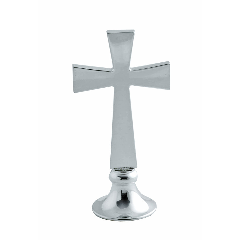 "4"" Silver Plated Cross"