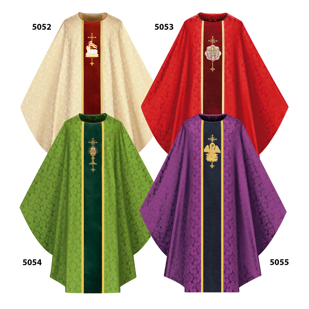 Chasubles in Tassilo Damask