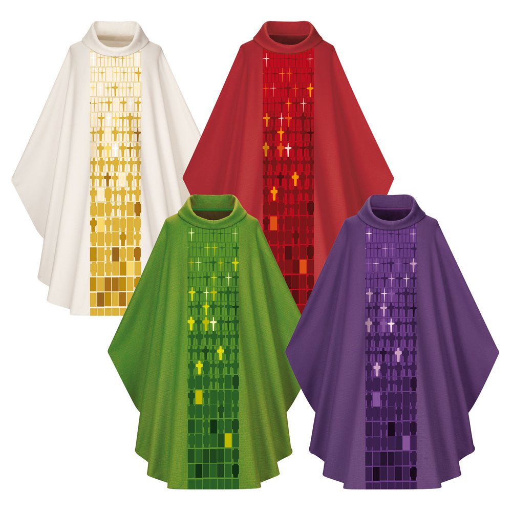 Chasubles in Dupion