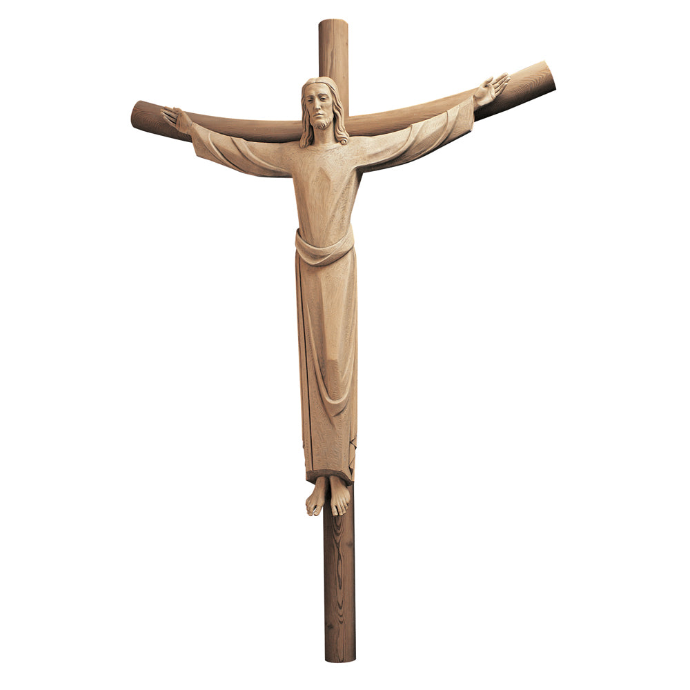 Carved Wood Jesus the Redeemer