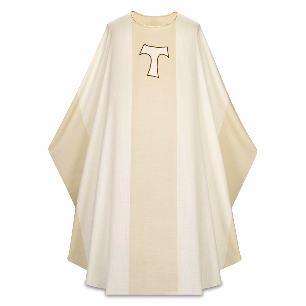 'Tau Cross' Chasuble (St. Francis's Cross)