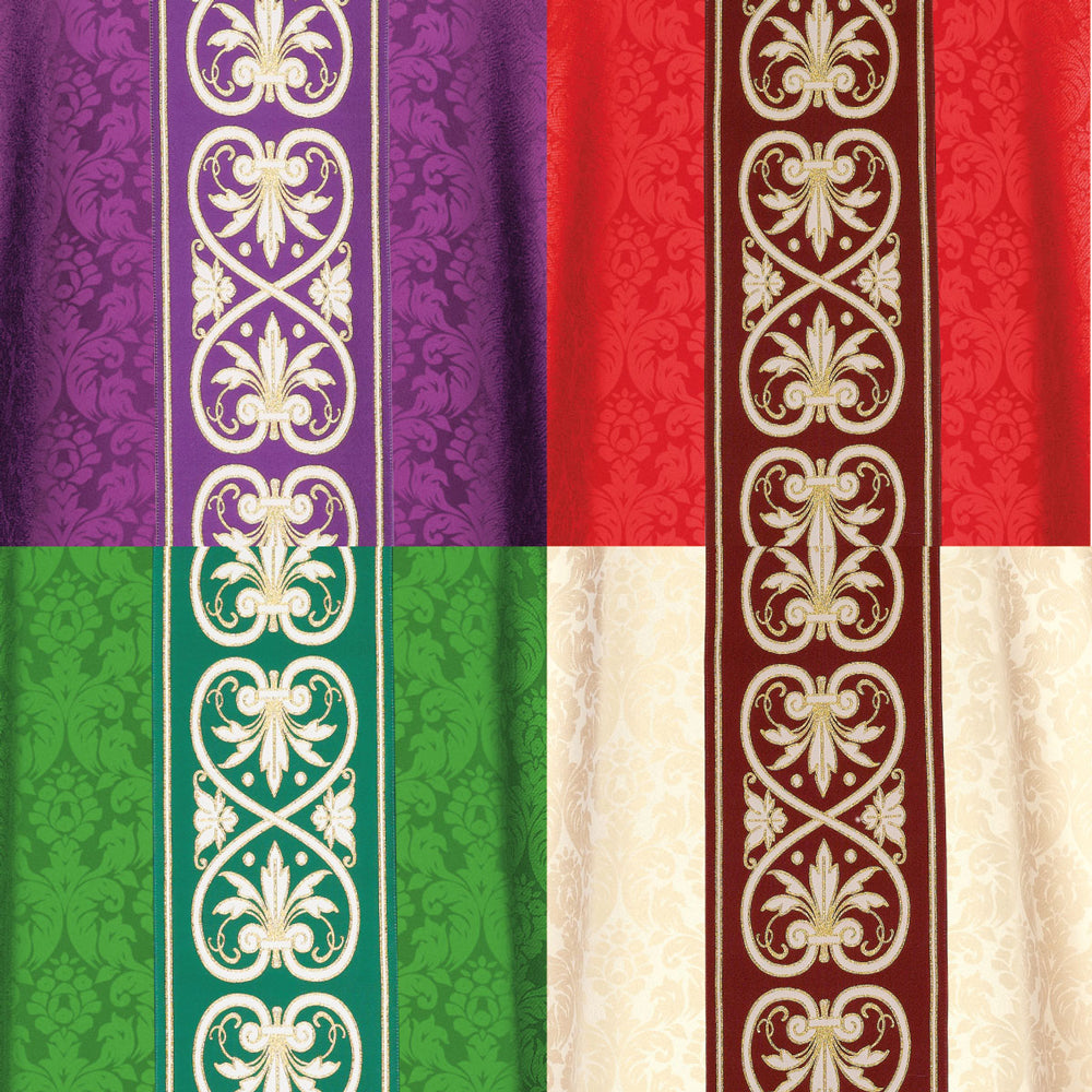 Chasubles in Duomo Damask