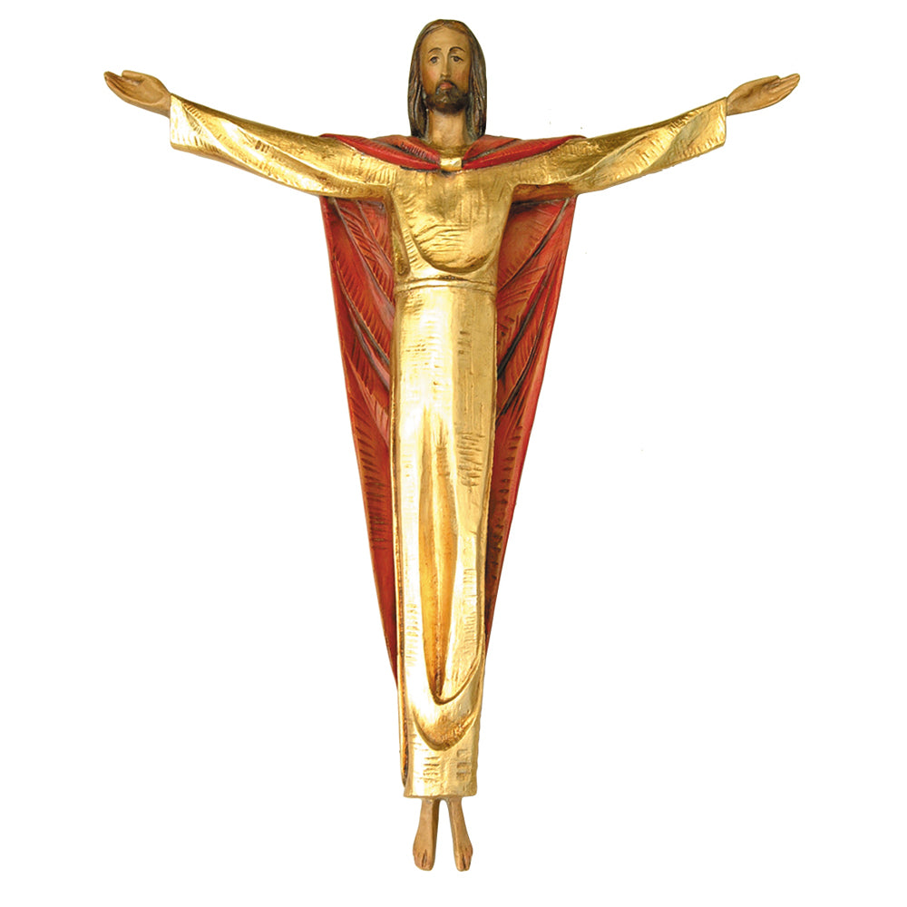 "Glassfibre Risen Christ - 31"" high"