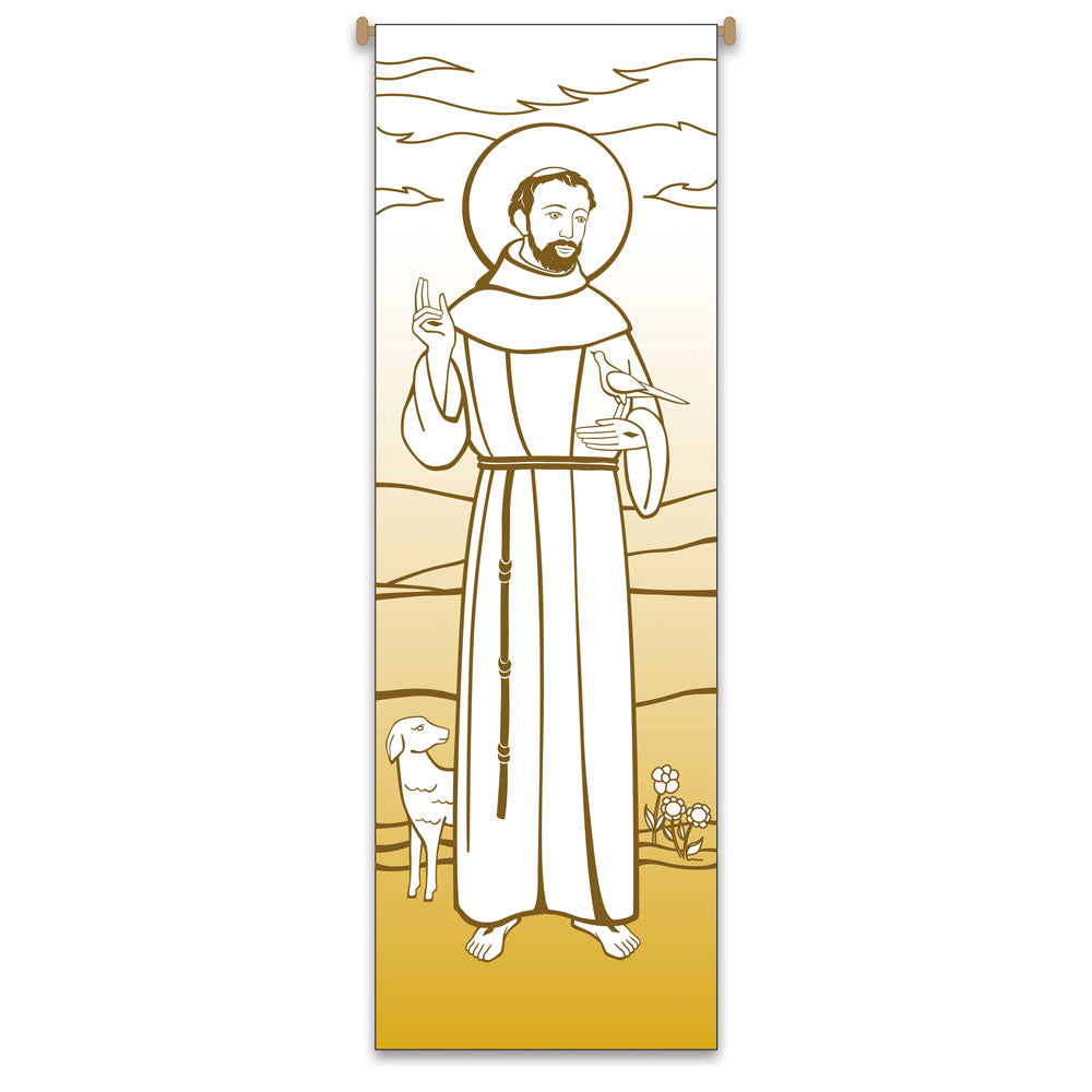 Large Inside Banner - St. Francis of Assisi