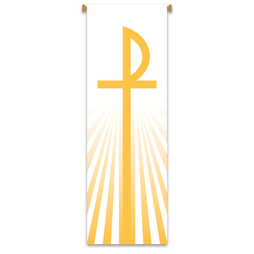 Large Inside Banner - Chi Rho