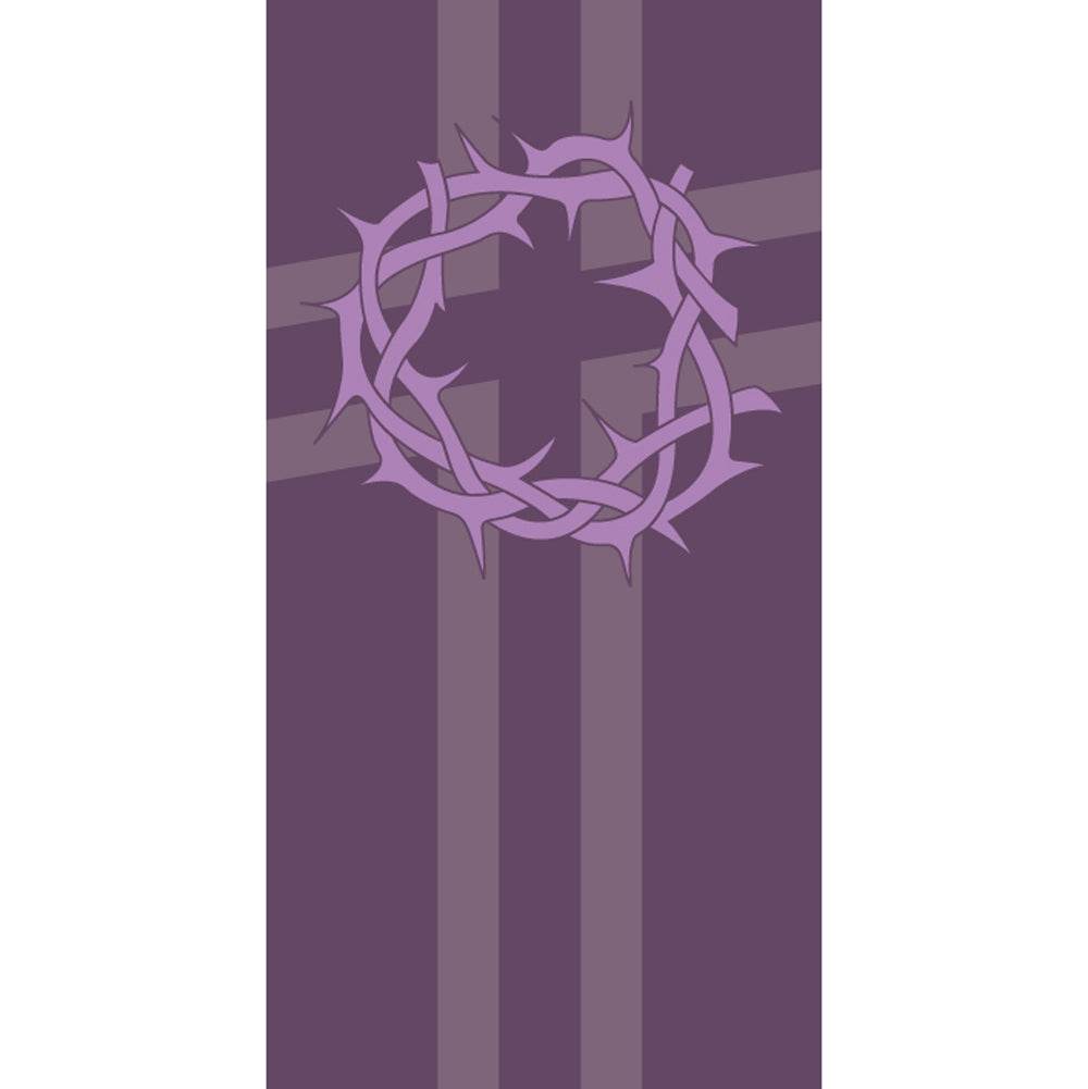Small Inside Banner - Lent, Crown of Thorns