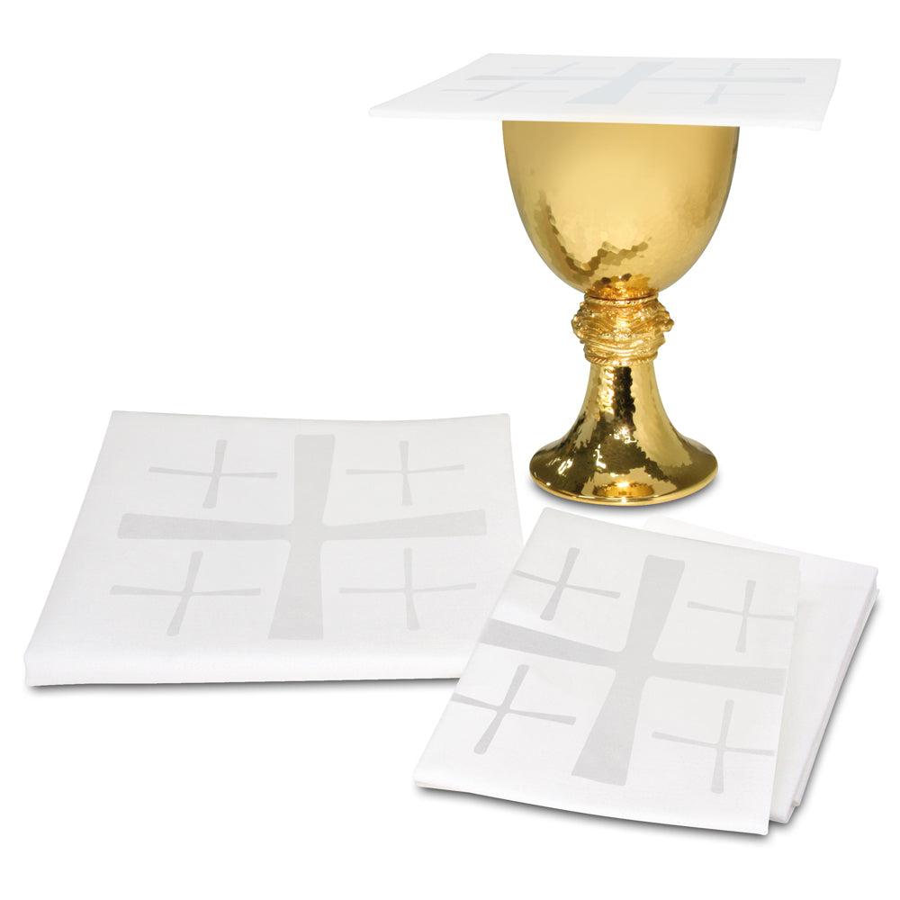 Small Linens with Cross Motifs