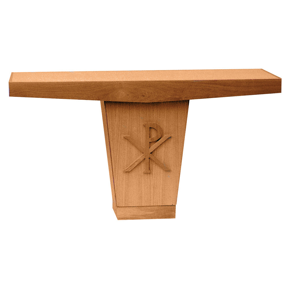 Oak Altar with applied PX design