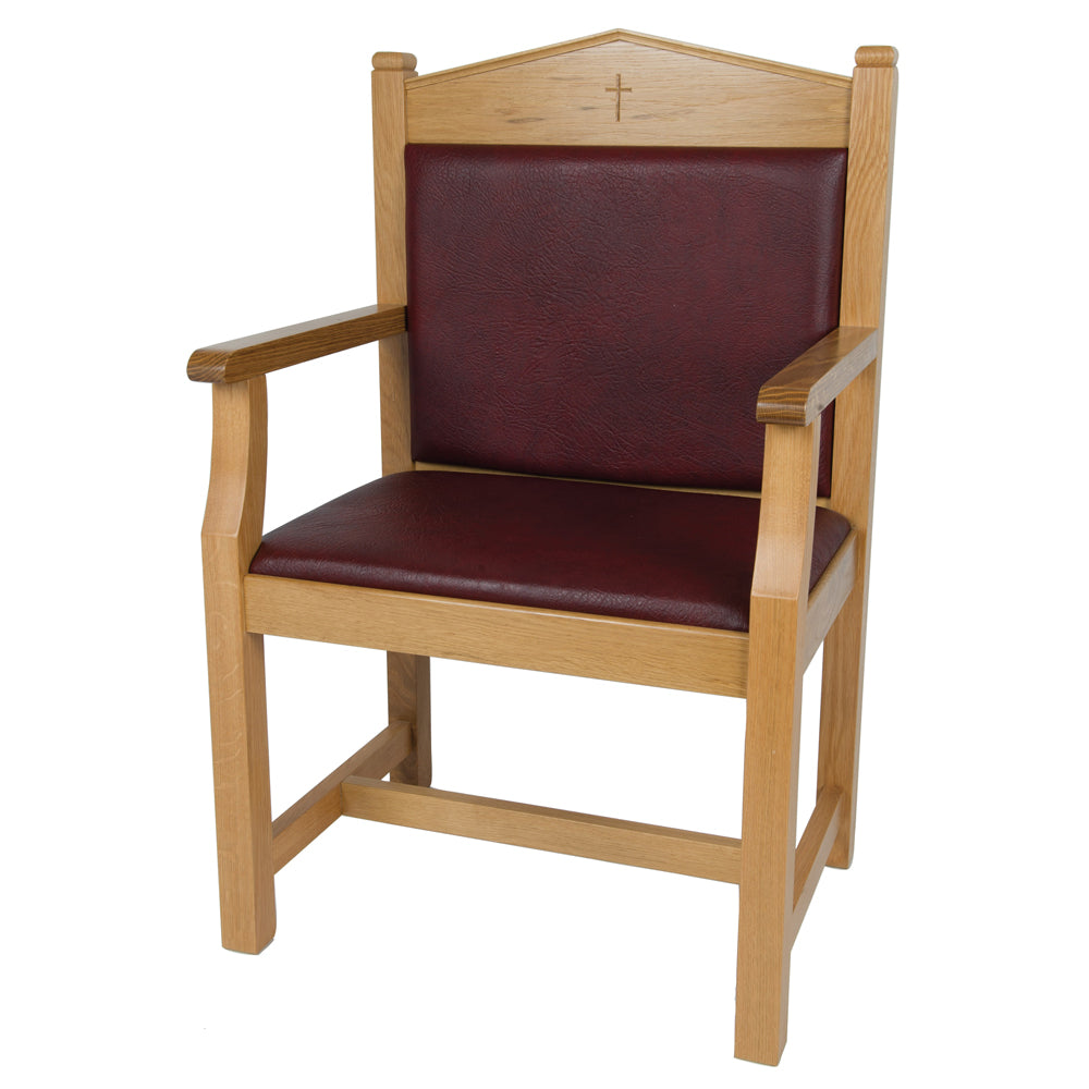 Oak Presidential Chair