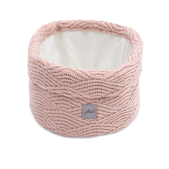 mandje River knit pale pink
