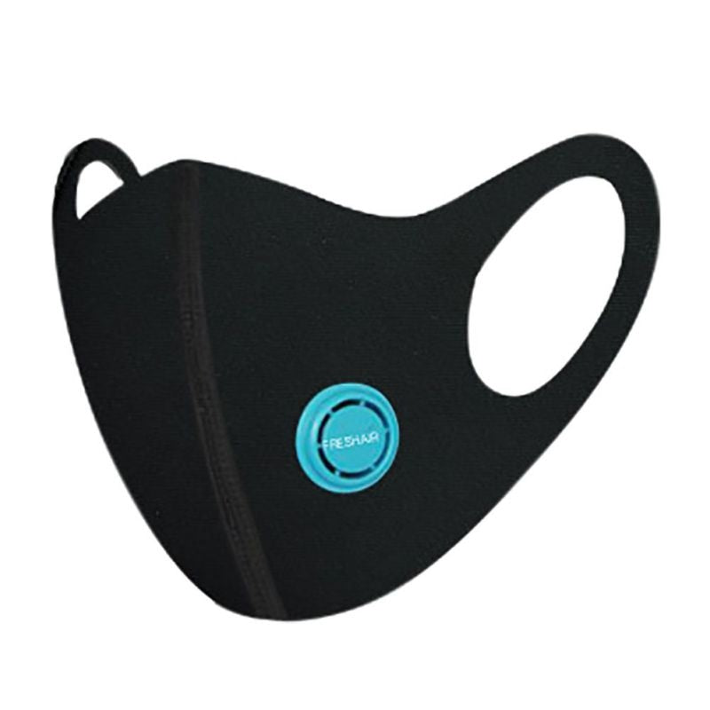 Flexible N95 Face mask with activated PM2.5 carbon filter for sports - FruGear