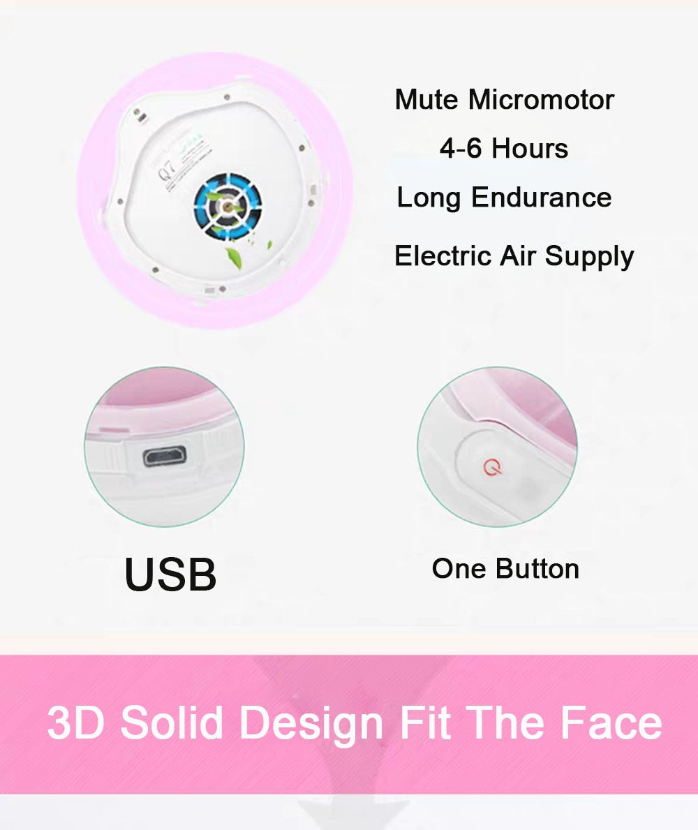 Q7 HEPA Smart Electric KN95 Face Mask  (Pm2.5 Smart Electric KN95 Face Mask ) - FruGear