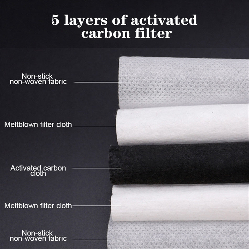 EU delivery | 5 Layers Meltblown PM2.5 Filter  | 10pcs bulk pack  (10pcs) - FruGear
