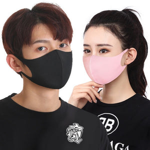 Washable N95 Face mask with activated PM2.5 carbon filter stretched fit and 10 (10) filters included - FruGear
