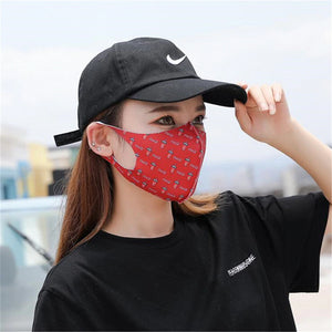NEW STOCK! Washable microfiber polyester KN95 Face mask with Earloop (Black) - FruGear
