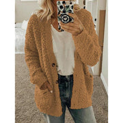 Large woolen cardigan