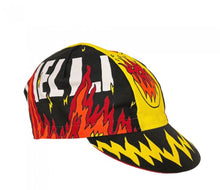 Load image into Gallery viewer, Cycling cap: Fire