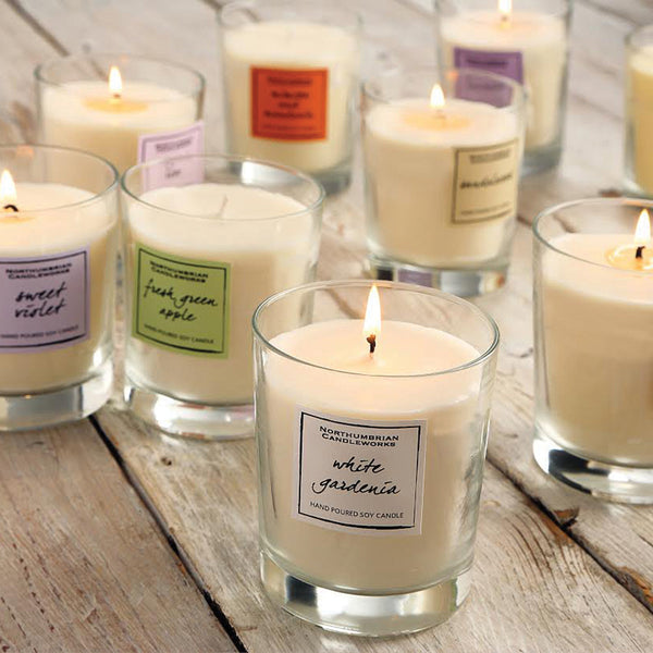 Candle Glass Benefits - Candles in Glass Jars by Northumbrian Candleworks