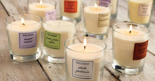 Soy Wax Candles - Candles by Northumbrian Candleworks