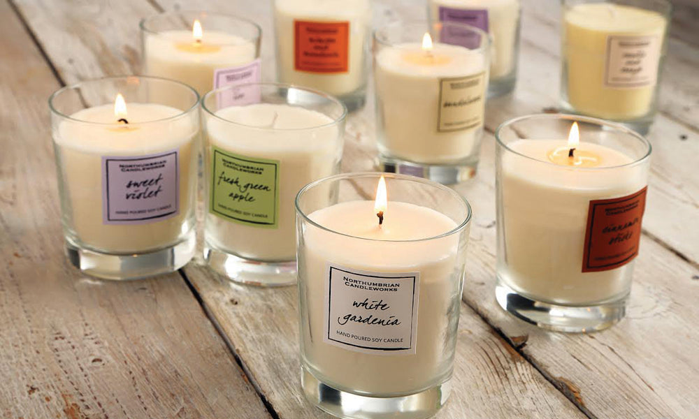 Soy Wax Candles in Jars