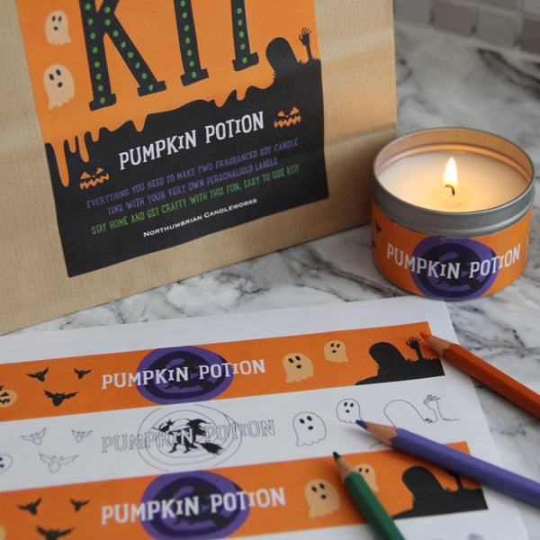 Halloween Kit - Candle Making Kits by Northumbrian Candleworks