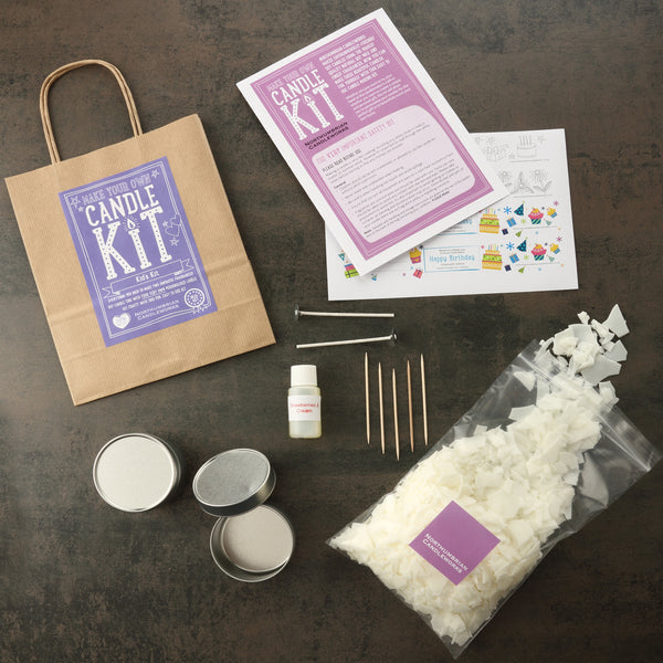 Candle Making Kit Contents - Candle Making Kits by Northumbrian Candleworks