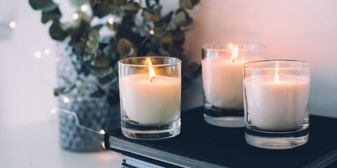 candles in your home