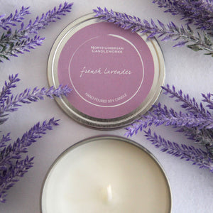 French Lavender Candle in a Tin