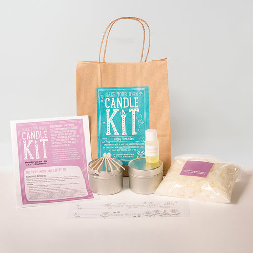 Northumbrian Candleworks - Happy Birthday Honeysuckle Jasmine - Candle Making Kit