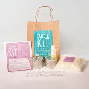 Northumbrian Candleworks - Happy Birthday Honeysuckle Jasmine - Candle Making Kits